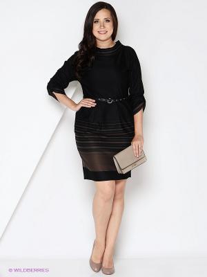Платье КАЛIНКА. Цвет: темно-коричневый