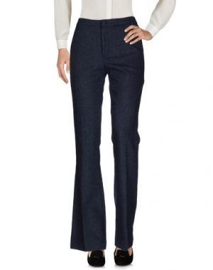 Повседневные брюки M!A F. Цвет: темно-синий