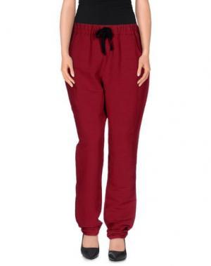 Повседневные брюки LEON & HARPER. Цвет: пурпурный