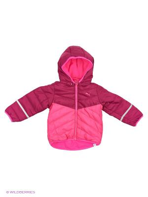 Куртка Infant Padded Jacket Puma. Цвет: розовый