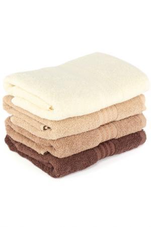 Набор полотенец Hobby. Цвет: beige, brown