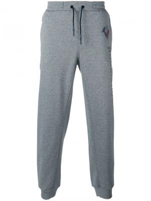 Спортивные брюки с принтом логотипа Rossignol. Цвет: серый