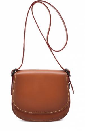 Сумка Saddle Bag 23 Coach. Цвет: коричневый