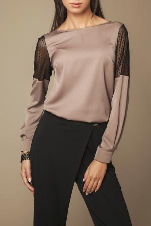Блуза Ambigante. Цвет: коричневый