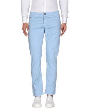 Повседневные брюки BASICON. Цвет: небесно-голубой