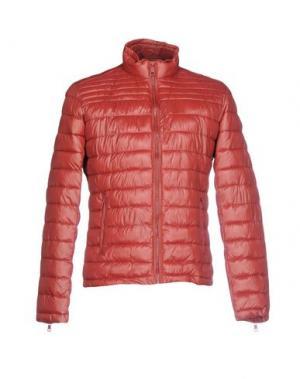 Куртка CENSURED. Цвет: кирпично-красный