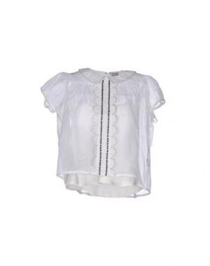 Блузка JUPE BY JACKIE. Цвет: белый
