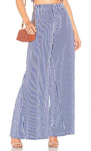 Юбка-брюки pia MDS Stripes. Цвет: синий