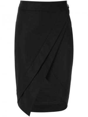 Asymmetric skirt Giuliana Romanno. Цвет: чёрный