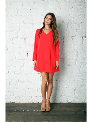 Платье Fashion.Love.Story.. Цвет: красный