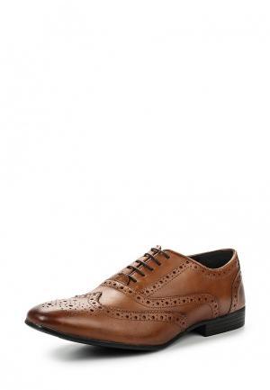 Туфли Topman. Цвет: коричневый