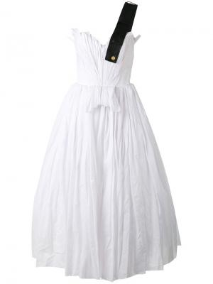 Full dress Natasha Zinko. Цвет: белый