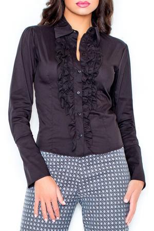 Рубашка Figl. Цвет: черный