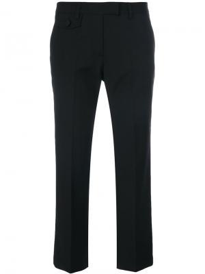 Укороченные брюки Semicouture. Цвет: чёрный