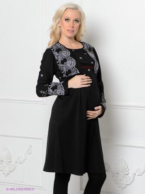 Платье Livaa. Цвет: черный