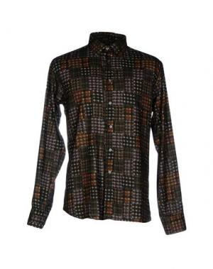 Pубашка JEY COLE MAN. Цвет: темно-зеленый
