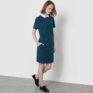 Платье-рубашка MADEMOISELLE R. Цвет: синий,черный