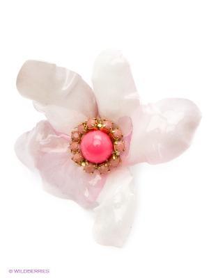Кольцо Maru by Safri. Цвет: розовый