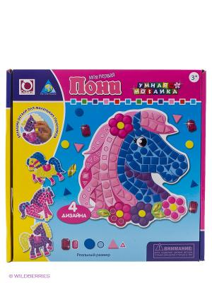 Мозаика набор Пони 4 шт. The ORB factory. Цвет: голубой, розовый