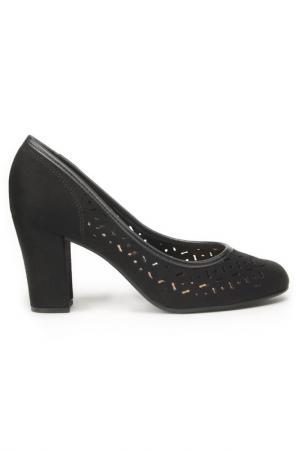 Туфли-лодочки Beira Rio. Цвет: черный