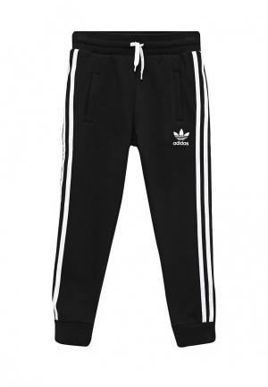 Брюки спортивные adidas Originals. Цвет: черный