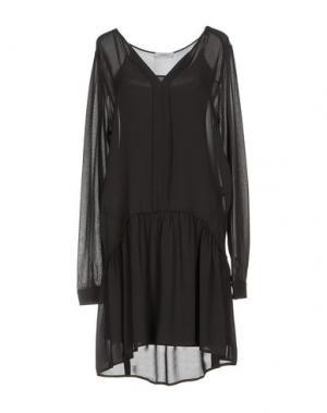 Короткое платье SITA MURT/. Цвет: стальной серый
