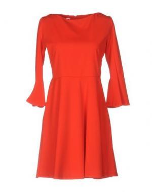Короткое платье KATE. Цвет: красный