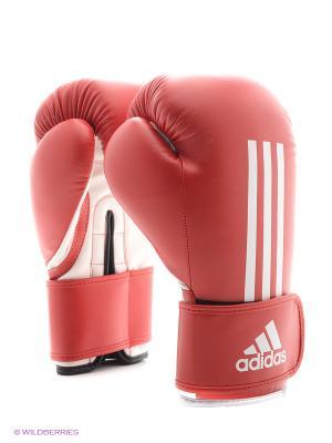 Перчатки боксерские Energy 100 Adidas. Цвет: красный, белый