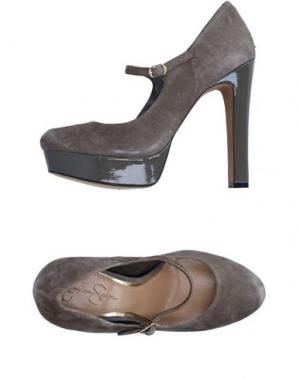 Туфли JESSICA SIMPSON. Цвет: свинцово-серый