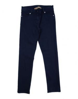 Повседневные брюки MANILA GRACE DENIM. Цвет: темно-синий