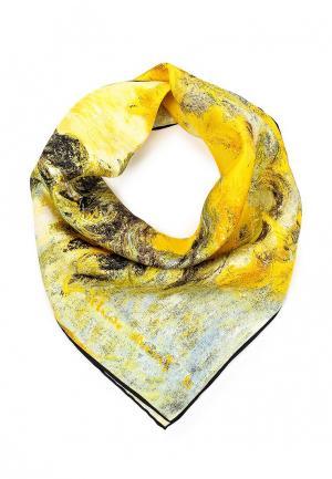 Платок Venera. Цвет: желтый
