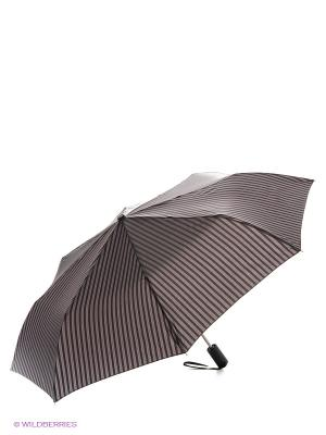 Зонт Slava Zaitsev. Цвет: темно-серый