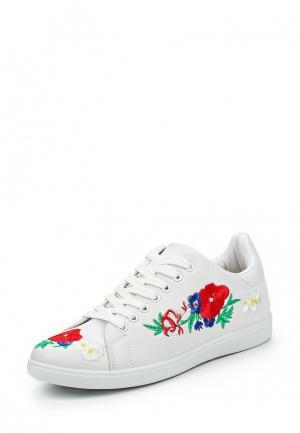 Кеды Ideal Shoes. Цвет: белый