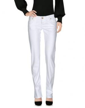 Повседневные брюки 2W2M. Цвет: белый