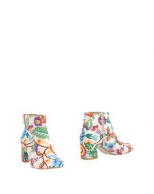 Полусапоги и высокие ботинки OVYE' by CRISTINA LUCCHI. Цвет: слоновая кость