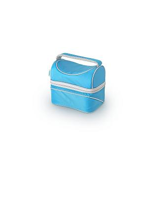 Сумка-термос тм THERMOS Beauty series PopTop Dual - Blue. Цвет: голубой