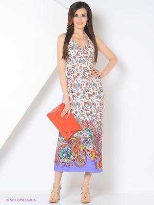 Платье Cariba. Цвет: коралловый, голубой, фиолетовый