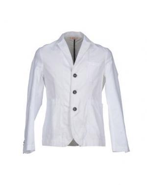 Пиджак D.R SHIRT. Цвет: белый