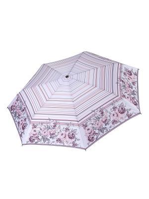 Зонт Fabretti. Цвет: белый, бледно-розовый