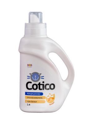 Cotico Кондиционер ополаскиватель для белья Орхидея 1 л B&B. Цвет: белый