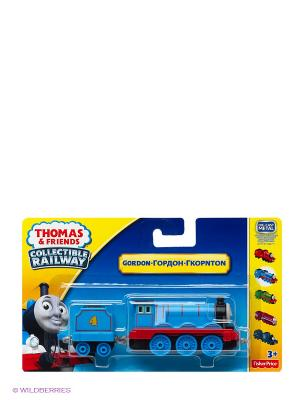 Паровозик базовый с вагоном Серия Коллекция THOMAS & FRIENDS. Цвет: синий