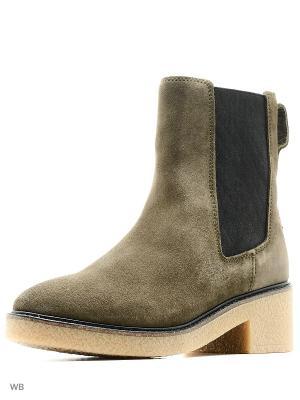 Ботинки Tommy Hilfiger. Цвет: хаки