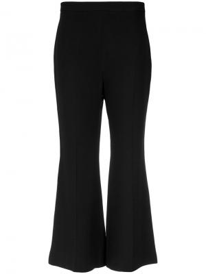 Flared cropepd trousers Andrea Marques. Цвет: чёрный