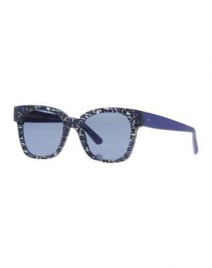 Солнечные очки KYME. Цвет: темно-синий