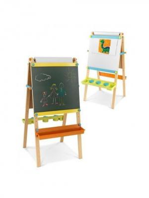 Детский двусторонний мольберт Юный Пикассо KidKraft. Цвет: бежевый