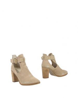 Полусапоги и высокие ботинки MARIA MARE. Цвет: бежевый