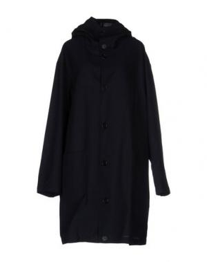 Легкое пальто CINI. Цвет: темно-синий