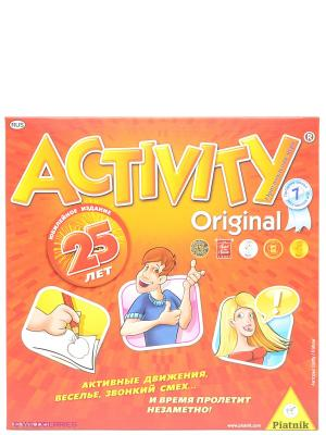 Настольная игра Activity 2, юбилейное издание Piatnik. Цвет: оранжевый