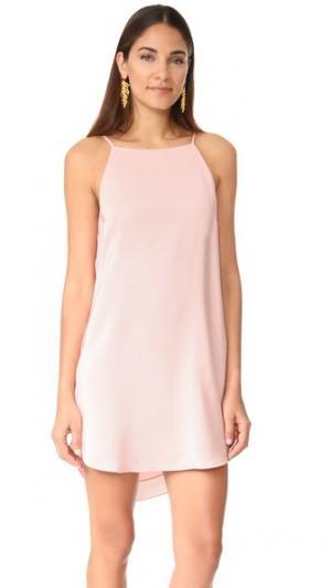 Платье Roya Amanda Uprichard. Цвет: «пыльный» розовый