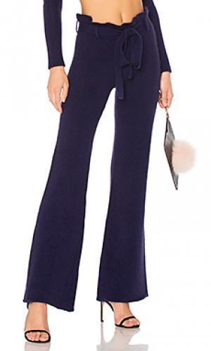 Широкие брюки 403 LPA. Цвет: фиолетовый